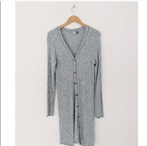 Anthropologie Akemi + Kin Long Duster Cardigan